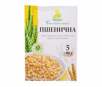 Крупа Пшенична ярова Терра 400г