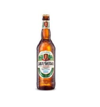 Пиво світле Оригінальне Закарпатське 0,5л