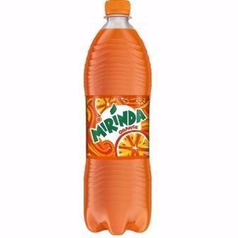 Напій безалкогольний Мірінда апельсин 1 л