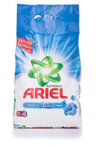 Стиральный порошок ARIEL автомат Touch of Lenor Fresh, 3кг