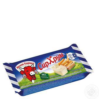 Сир плавлений Вершковий з хлібними паличками Весела корівка 35 г