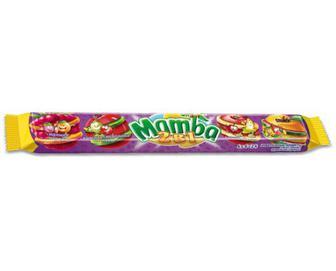 Цукерки Mamba жувальні 2 в 1, 106 г