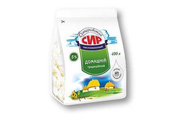 Сир кисломолочний 5% «Білоцерківський» - 400 г