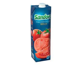Сік Sandora томатний з сіллю, 0,95л