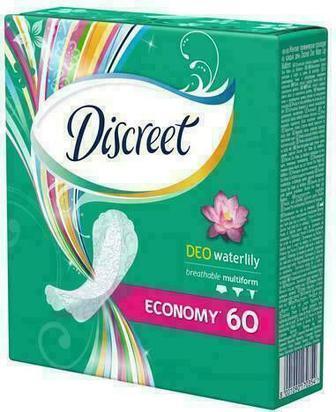 Прокладки Alldays Discreet Deo Water Lily 60 шт (ежедневные)