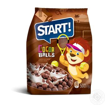 КУЛЬКИ з какао, 500 г START!
