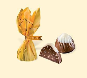 Вагові цукерки Монблан з шоколадом та сезамом