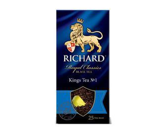 Чай чорний Richard King's Tea, 25×2 г/уп.