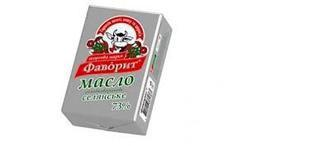 Масло Селянське солодковершкове 73% 200г, Фаворит