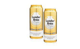 Пиво Преміум пілснер Ландер Брау 0,5 л,