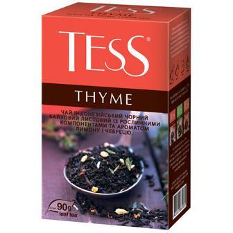 Чай Tess Thyme індонезійський чорний 90г