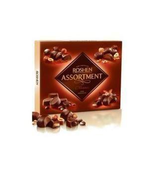 Цукерки ASSORTMENT Classic, чорний шоколад   Roshen 154 г