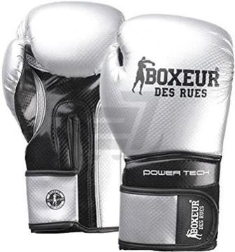 Боксерські рукавиці Boxeur BXT-5195 10oz сріблястий