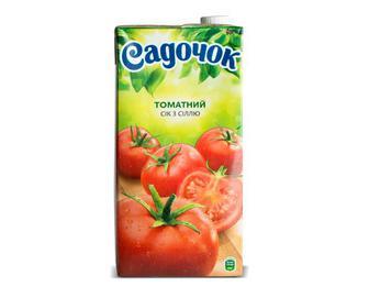 Сік «Садочок» томатний, 0,95 л