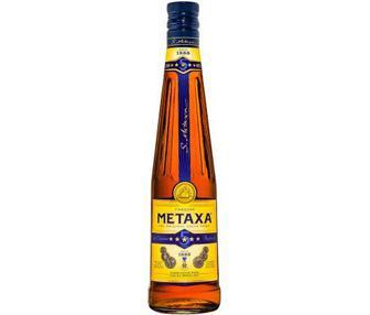 Алкогольний напій 5 Метакса 0,5л