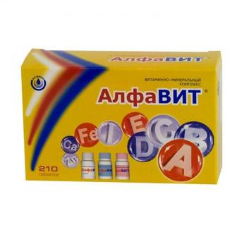 АлфаВит таблетки №60