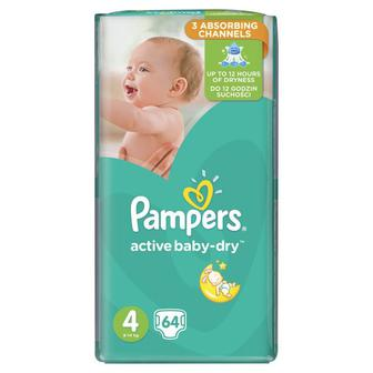Подгузники PAMPERS Active Baby 42,45,49,58шт
