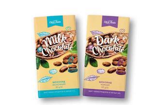 Шоколад чорний/молочний Своя Лінія 85 г