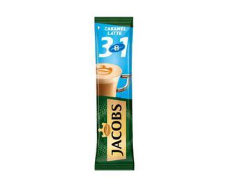 Напій кавовий розчинний Jacobs 3 в 1 Caramel Latte, 12,3 г