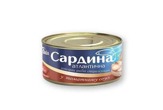 Консерви у томатному соусі Своя Лінія 240 г