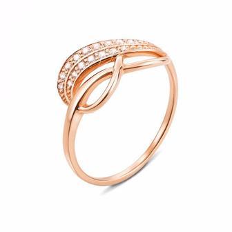 Золотое кольцо Бесконечность. Артикул 12684