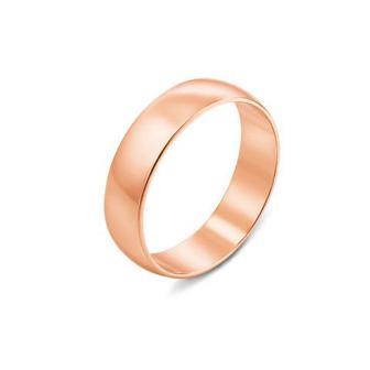 Обручальное кольцо классическое. Артикул 1006
