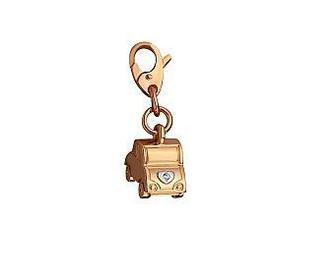 Золотой кулон с фианитом 15-000092164