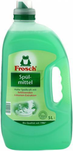 Бальзам для ручного миття посуду Frosch c экстрактом лимона 5л