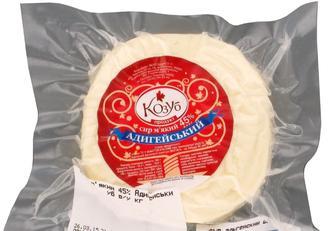 Сир м'який Адигейський, 45%, Козуб, 100 г