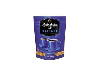 Кава Blue Label, розчинна сублімована Ambassador 120 г