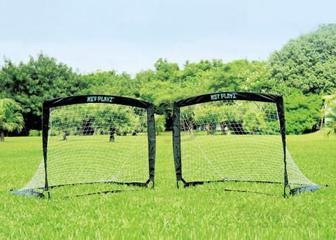 Футбольні ворота розкладні Net Playz Soccer Easy Playz NPS-801 чорний