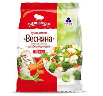 Суміш овочева з 7-ми компонентів Рудь 400 г