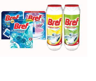Асортимент продукції Bref