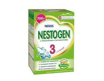 Сухая молочная смесь Смесь Nestogen (Nestlé) 3 (с 12 месяцев)