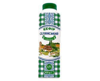 Кефір 1% жиру «Селянський» 450г