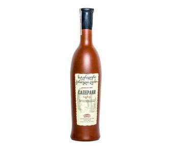 Вино Вазиани Алазанська Долина біле/Сапераві червоне 0,75л