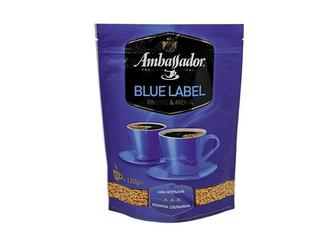 Кава розчинна Blue Label Ambassador , 120 г