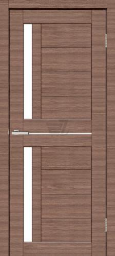 Дверне полотно ПВХ ОМіС Cortex deco 01 ПО 600 мм дуб амбер лайн