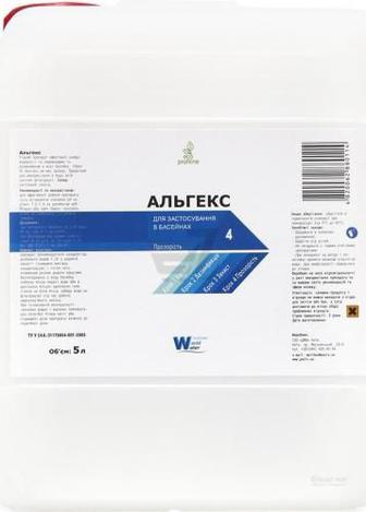 Скидка 35% ▷ Засіб проти водоростей Window World Water Альгекс 5 л 911250500 1cf1c8f62ec65