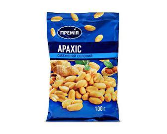 Арахіс смажений солоний, Премія, 100г
