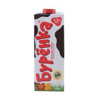 Молоко 2,5% у/п Буренка, 1 л