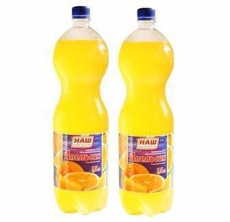 Вода солодка Наш Продукт Оранж  2л