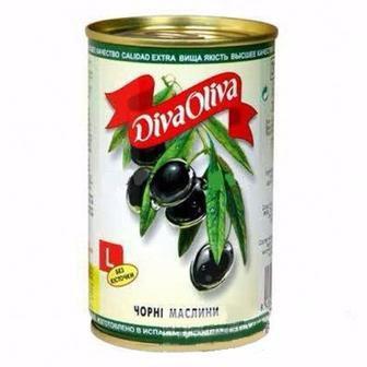 Оливки без кісточки Diva Oliva, 300 г