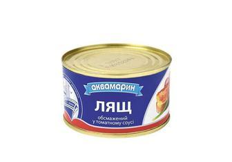 Консерви Лящ обсмажений у томатному соусі Аквамарин 230 г