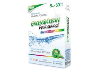 Green&Clean Professional пральний порошок для кольорової білизни, 5 кг
