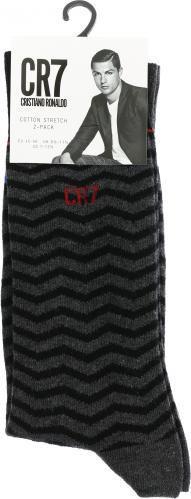 Шкарпетки 2 пари 8272-80-113 сірий із чорним