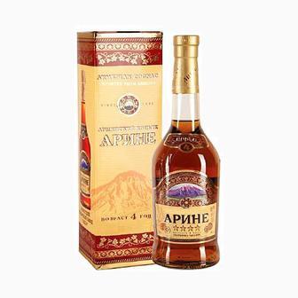 Армянский коньяк 4 звезды Arine 0,5л
