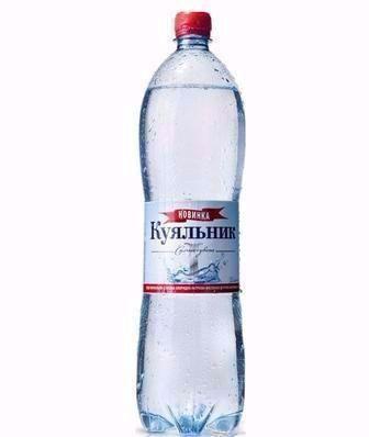Вода сильногазована Куяльник1 1,5 л
