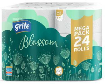 Папір туалетний Grite Blossom, 24 рулони/уп