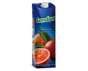 Соковий напій сицилійський червоний апельсин, 0,95л